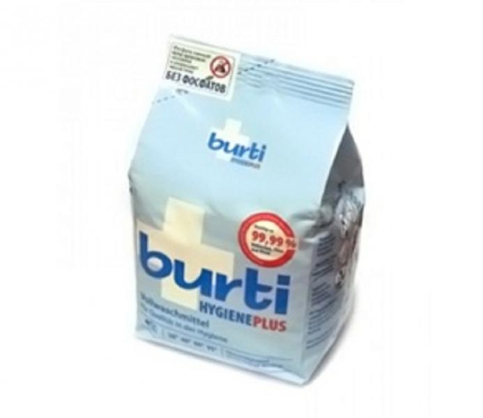 BURTI Hygiene Plus Универсальный cтиральный порошок для белого белья с